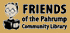 logo friends of pahrump community library