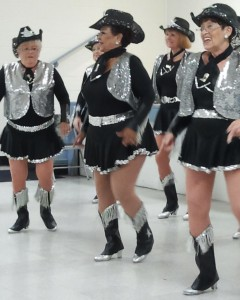 Nevada Silver Tappers performing in July, 2012